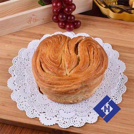 Giấy lót bánh ren hoa 24cm