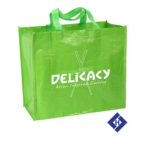 Túi siêu thị đựng quà