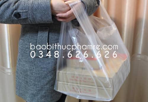 Túi nilon đựng hộp bánh pizza M 1.1