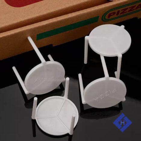Chân nhựa chống bánh pizza