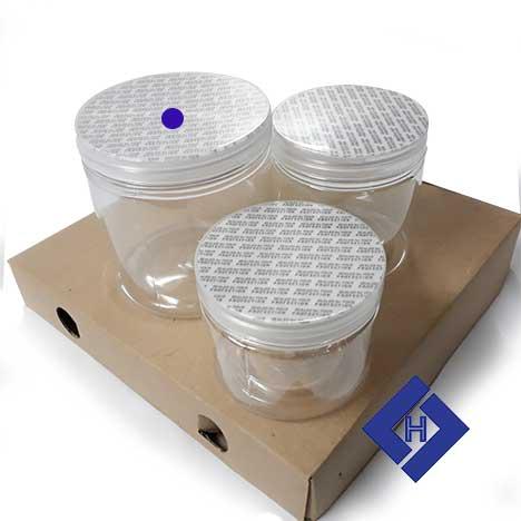 Hũ nhựa tròn 100×90 plastic jars