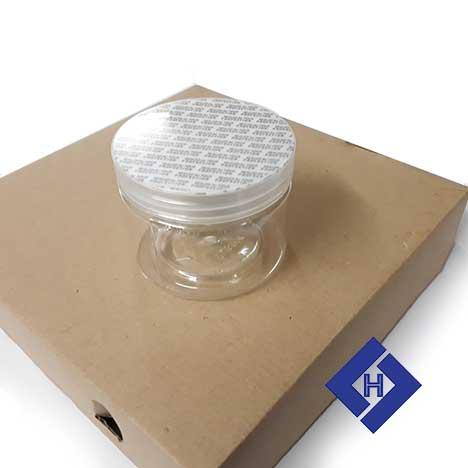 Hũ nhựa tròn 85×65 plastic jars