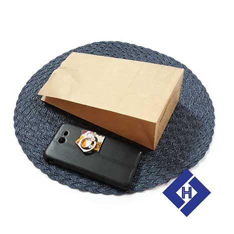Túi giấy đựng bánh Bakery bags 240x125x75 1.1