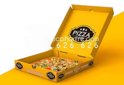 xưởng in hộp pizza 1.3