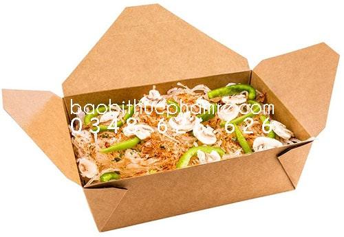 hộp gà rán 200 cái 1 thùng