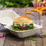 Hộp giấy hamburger bán buôn 1.1