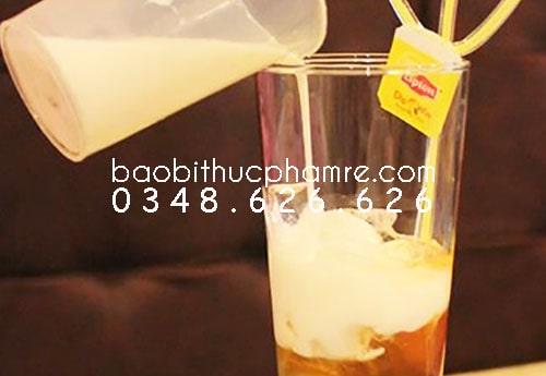 Ly nhựa nắp cầu trà sữa smoothie